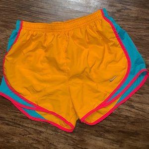 Size small Nike dri fit running shorts.